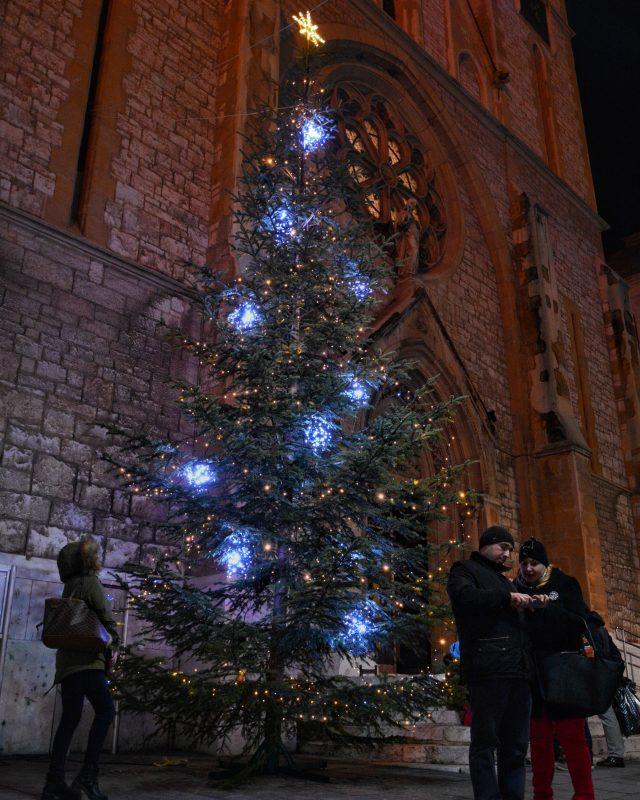 Christmas In Sarajevo.A Present From The Tourism Association Of Canton Sarajevo